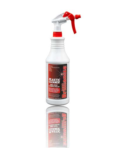 Brillianize Anti Static Greenhouse Window and Polycarbonate Cleaner 32 oz.