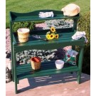 Backyard Buffet/Gardener's Workbench - Green