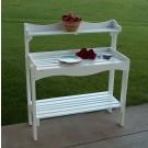 Backyard Buffet/Gardener's Workbench - White