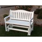 Garden Bench Glider - White