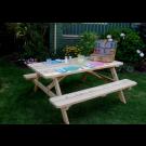 Outdoor Living Today - 6x5 Cedar Picnic Table