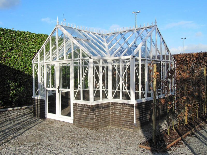 Royal antique orangerie greenhouse t shaped design for Victorian style greenhouse