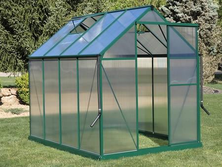 Brighton 6x8 Greenhouse Premium Pack