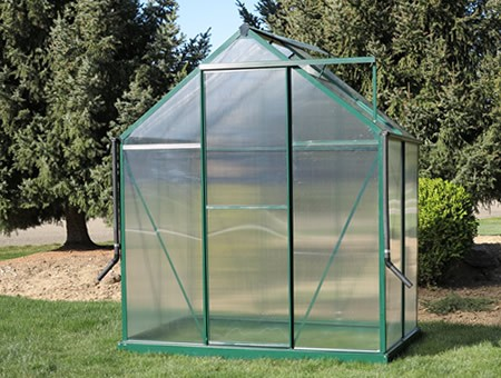 Brighton 6x4 Greenhouse - Premium Kit