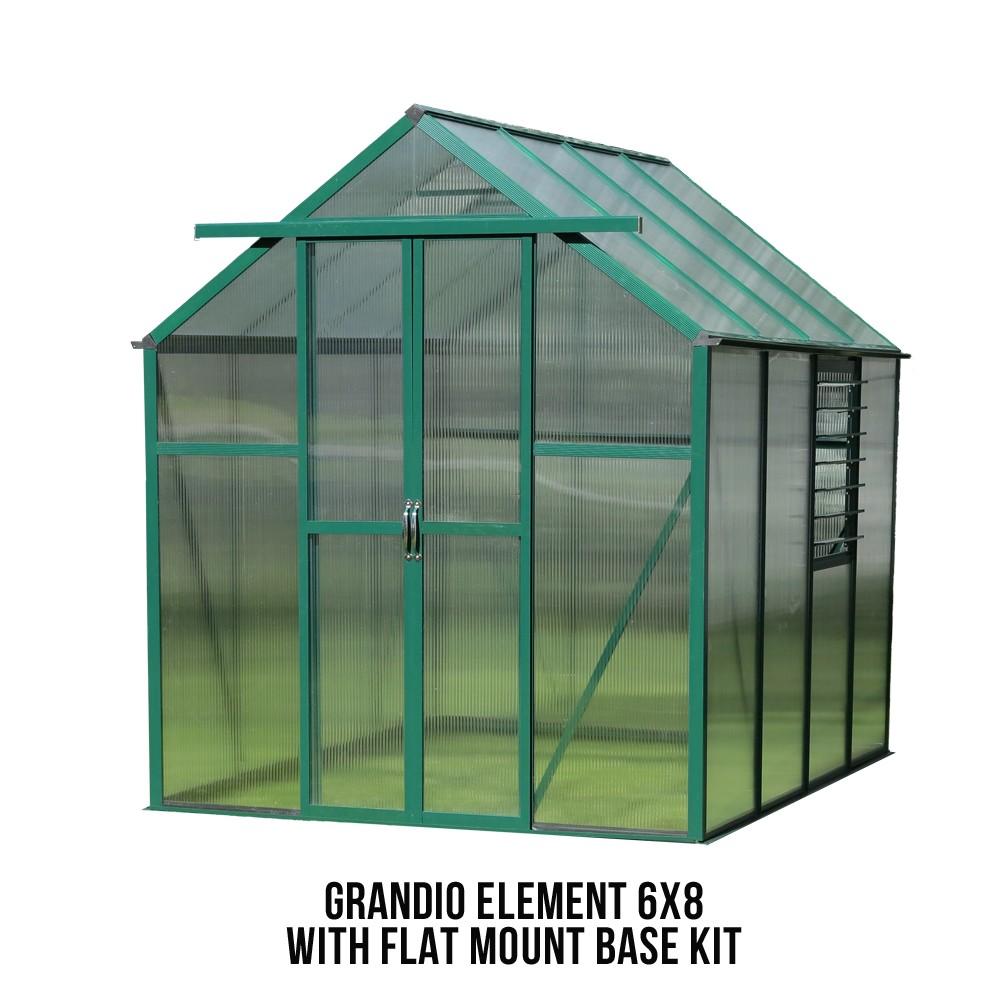 Grandio Element 6x8 Greenhouse