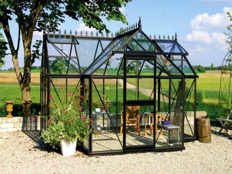 Junior Orangerie Greenhouse - T Shaped 10x13 J-ORA
