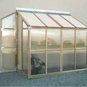 Sunshine 4'x8' Lean-to GardenHouse