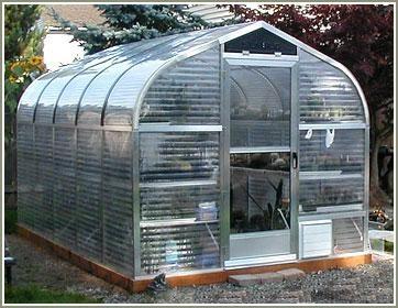 "SunGlo 1000d 7' 9"" x 12' 6"" Greenhouse - Premium Kit"
