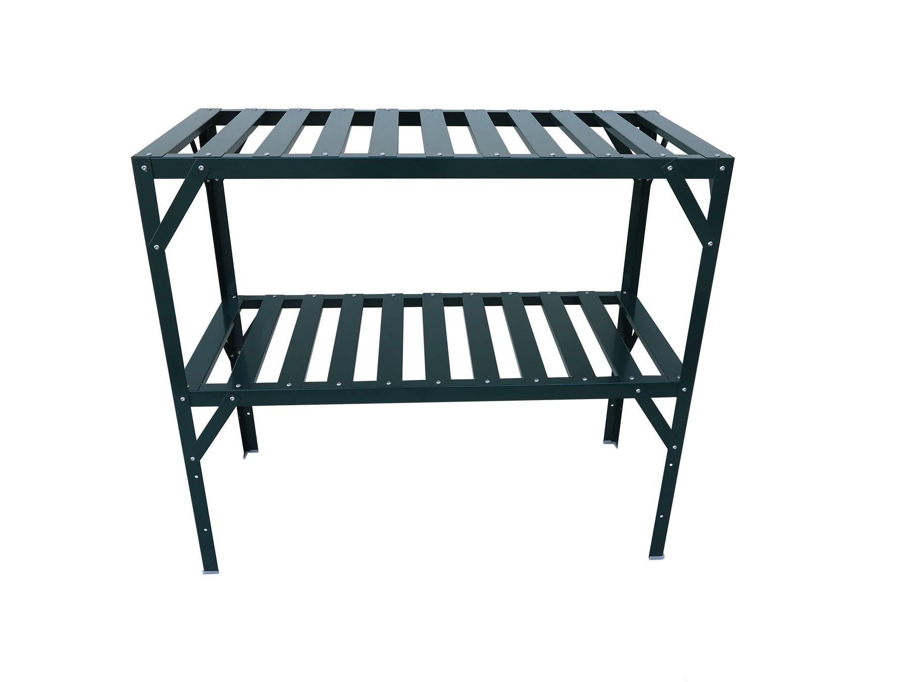 2017 Potting Bench with Adjustable Bottom Shelf