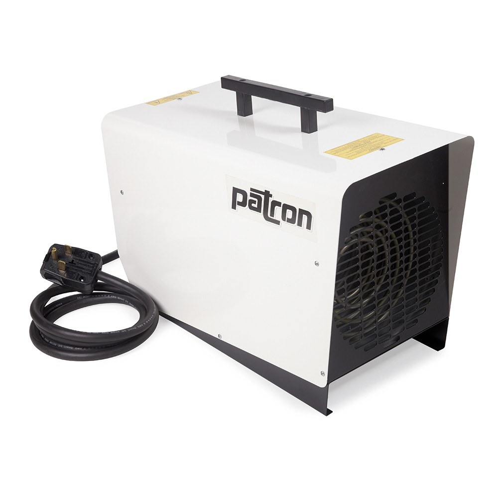Patron E6 6000 Watt Electric Heater - White
