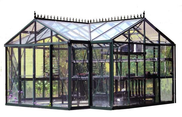 Royal Victorian Orangerie Glass Greenhouse