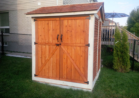 Outdoor living today 6x6 maximizer storage shed epic for Garden shed 6x6