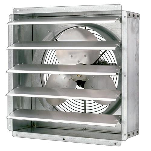 """Solexx 17"""" Fan 1570 CFM w/Thermostat"""