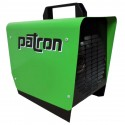 Patron E1.5 1500 Watt Electric Heater - Green