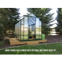 Grandio Element 6x8 Greenhouse - Premium Kit