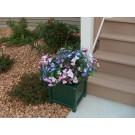 """17"""" Prestige Planter box (will hold a 14"""" pot) - Green"""