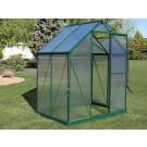 Brighton Greenhouse 6x4 Green