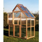 "Sunshine Mt. Hood 6'x4"" Gardenhouse - Double Door"