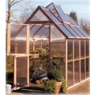 Sunshine Mt. Hood 6'x8' GardenHouse - Single Door
