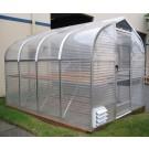 "SunGlo 1000b 7' 9"" x 7' 6"" Greenhouse - Premium Kit"
