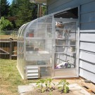 "SunGlo 1500f 5' 1.5"" x 17' 6"" Lean-to Greenhouse"