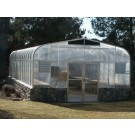 "SunGlo 2100e 15' 3"" x 15' Greenhouse - Premium Kit"
