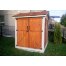 Outdoor Living Today - 6x6 Maximizer Storage Shed - Cedar Shingles Not Included