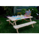 Outdoor Living Today - 6x5 Cedar Picnic Table