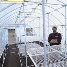 Solexx Conservatory Greenhouse Interior