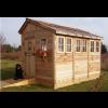 Outdoor Living Today - 8x12 Sunshed Garden Includes Dutch Door & 8 Functional Windows with Screens