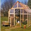 Sunshine Mt. Rainier 8x8 Garden House - Double Door