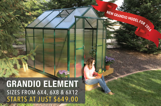 Grandio Greenhouse Sale