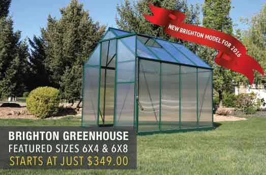 Brighton Greenhouse Sale
