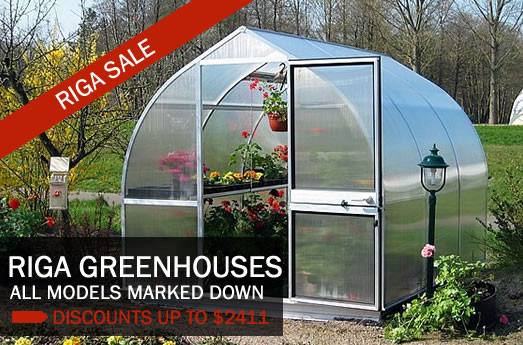 Riga Greenhouses, all marked down on sale now.