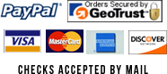 pay with paypal, visa, mastercard, american express, discover, secured by GoDaddy