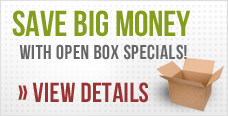 Deal of the Week. Check out our open box and showroom specials